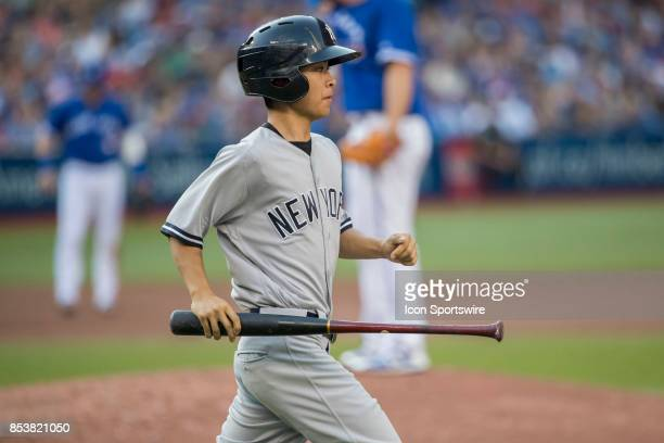 New York Yankees Bat boy during the regular season MLB game between the New York Yankees and the Toronto Blue Jays on September 23 2017 at Rogers...