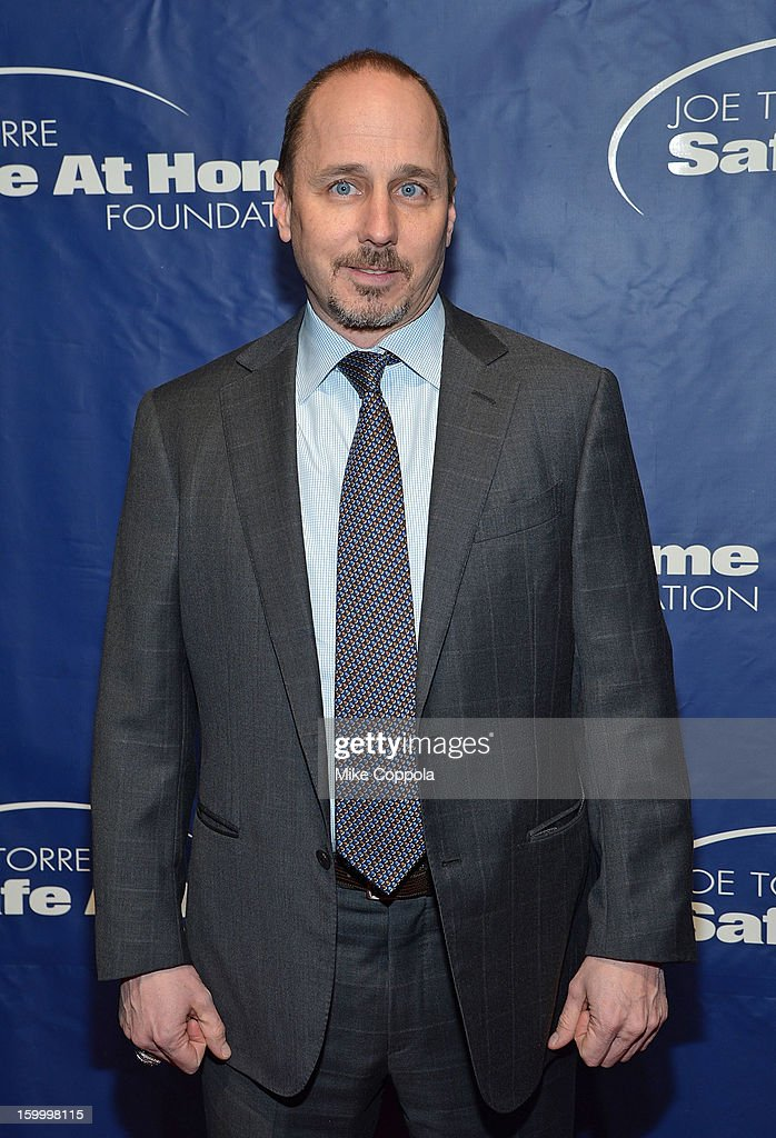 New York Yankees general manager Brian Cashman attends the Joe Torre Safe At Home Foundation's 10th Anniversary Gala at Pier 60 on January 24, 2013 in New York City.