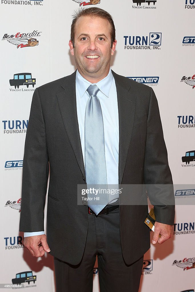 New York Yankees hitting coach Kevin Long attends theDerek Jeter 18th Annual Turn 2 Foundation dinner at Sheraton New York Times Square on June 1, 2014 in New York City.