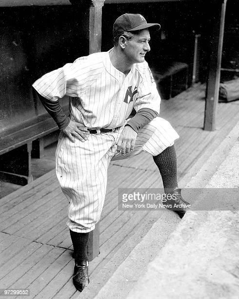 New York Yankees' Lou Gehrig