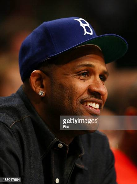 New York Yankees pitcher CC Sabathia attends the Brooklyn Nets v Chicago Bulls Game Seven of the Eastern Conference Quarterfinals of the 2013 NBA...