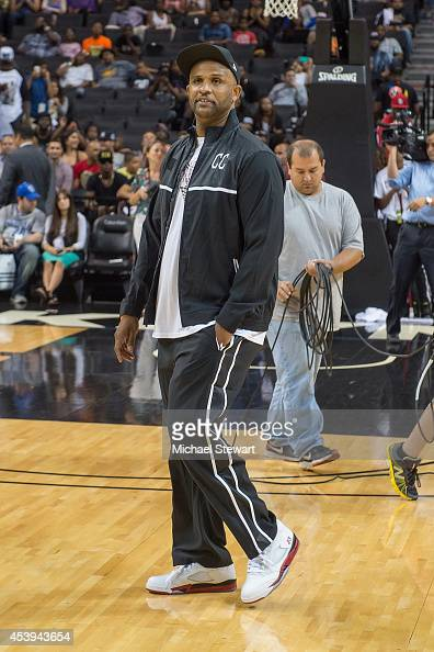 New York Yankees player CC Sabathia attends the 2014 Summer Classic Charity Basketball Game at Barclays Center on August 21 2014 in New York City