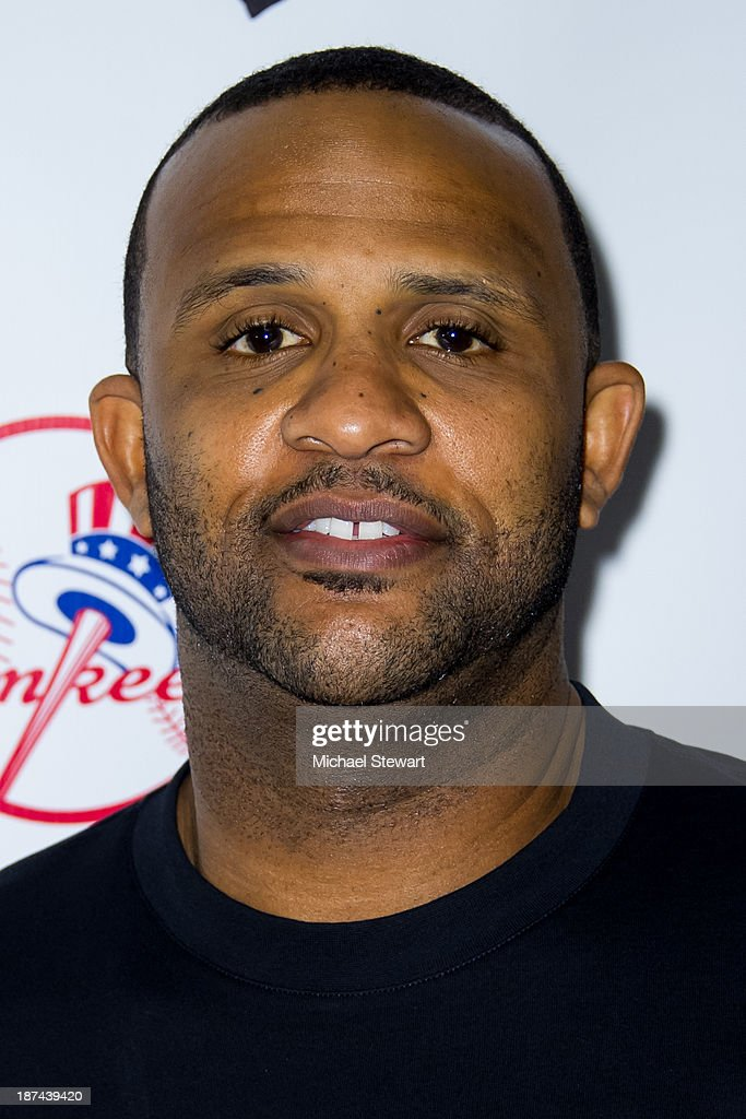 New York Yankees player CC Sabathia attends the PitCCh In Foundation 2013 Challenge Rules Party at Luxe at Lucky Strike Lanes on November 8, 2013 in New York City.
