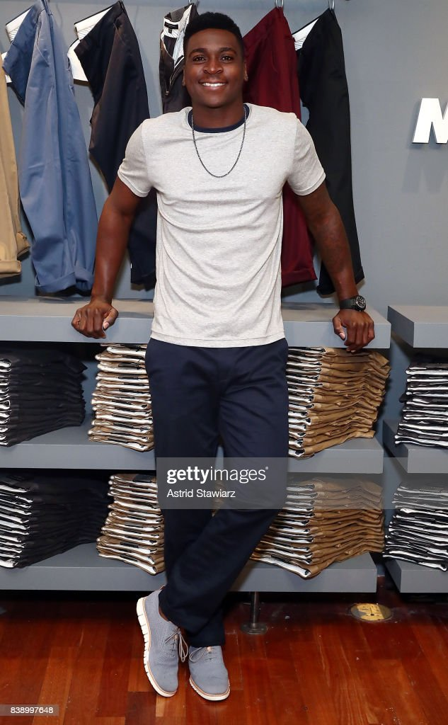 Banana Republic And Yankees Shortstop Didi Gregorius Introduce Men's Style Council And Rapid Movement Chino