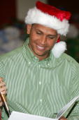 New York Yankees third baseman and 2005 American League Most Valuable Player Alex Rodriguez appears at the Boys and Girls Club on December 13 2005 in...