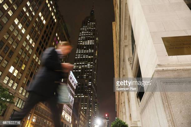 New YorkÕs Empire Sate Building went dark on Tuesday night in observance of the victims of a terrorist attack in the English city of Manchester on...