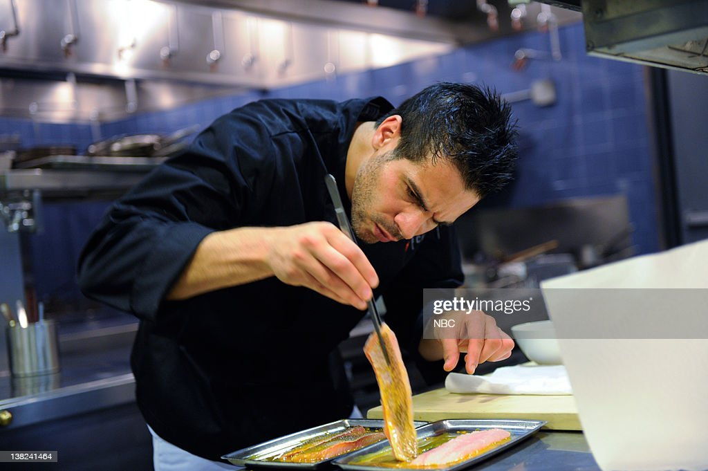 TOP CHEF -- 'New York's Finest' Episode 803 -- Pictured: Contestant Angelo Sosa
