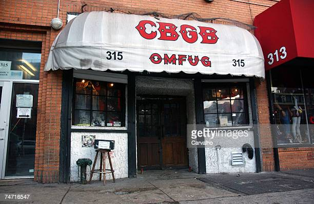 New York's legendary rock club CBGB which helped launch the careers of Blondie and the Ramones faces closure if it does not resolve a dispute over...