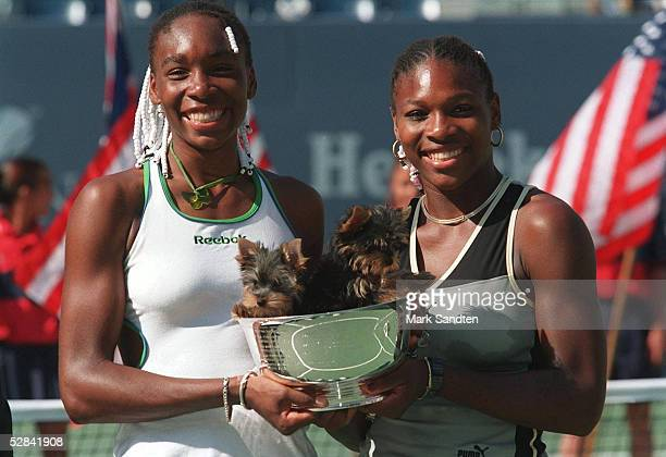 FINALE New York/USA SIEGERIN Venus WILLIAMS und Serena WILLIAMS/USA