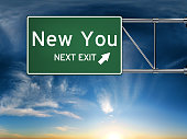 sign depicting a new change in life