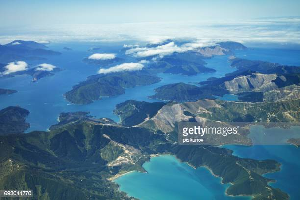 New Zealand aerial view