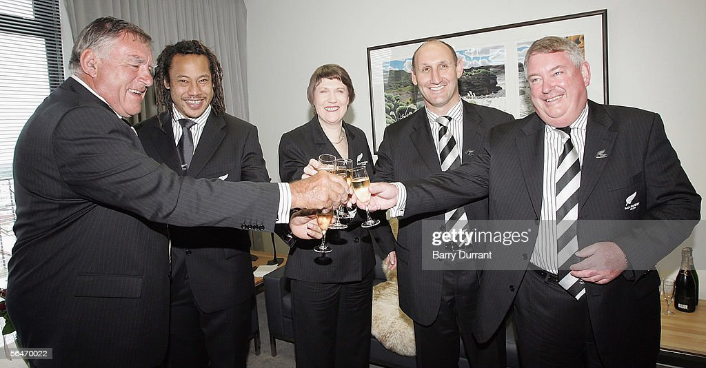 Helen Clark Celebrates New Zealand Hosting RWC 2011
