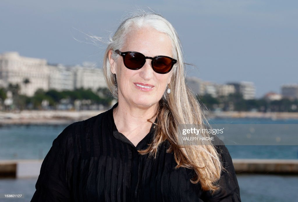 New Zealand director Jane Campion poses during a photocall for the TV series 'Top of the Lake' as part of the Mipcom international audiovisual trade show at the Palais des Festivals, in Cannes, southeastern France, on October 9, 2012.