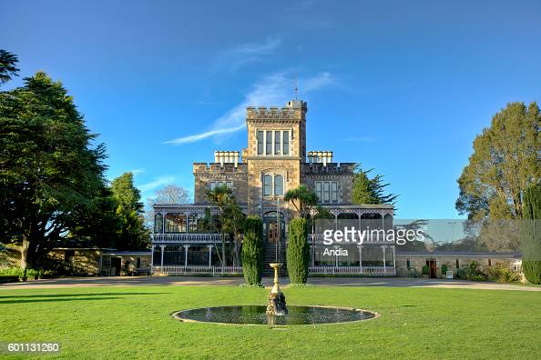 Dunedin city of the Otago Region in the South Island Larnach Castle the only castle in the country