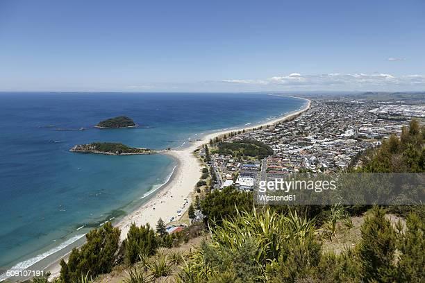 New Zealand, elevated view at Tauranga
