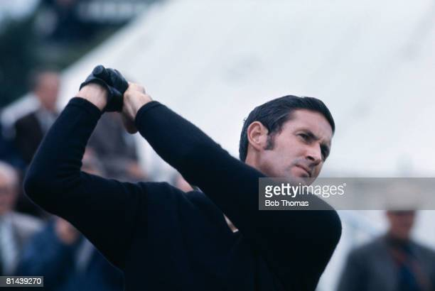 New Zealand golfer Bob Charles during the British Open Golf Championship held at Royal Lytham and St Annes during July 1963 Charles went on to win...