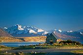 New Zealand, Lake Tekapo, Church