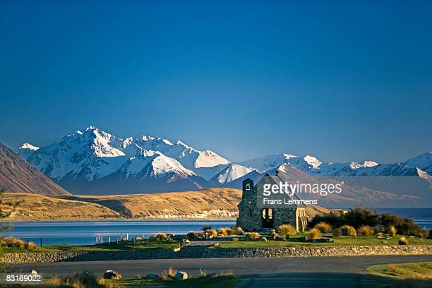 New Zealand, Lake Tekapo, Church