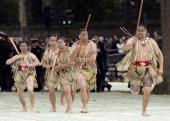 New Zealand Memorial Dedication Ceremony In London'S Hyde Park