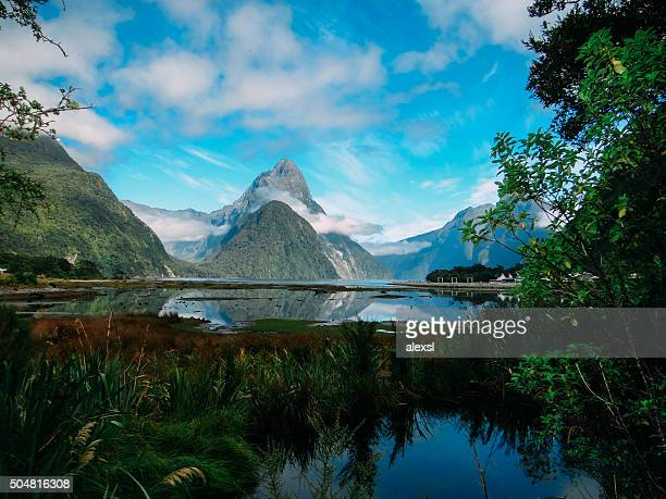 New Zealand - Milford Sound mountains