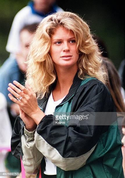 New Zealand model actress and reality TV show host Rachel Hunter circa 1990