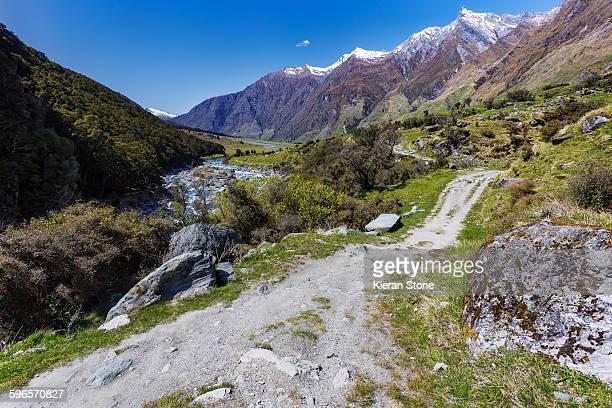 New Zealand mountainside