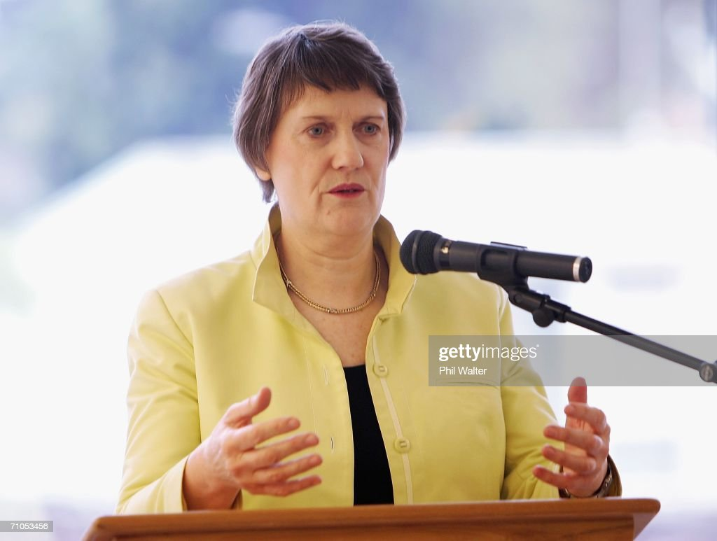 New Zealand Prime Minister Helen Clark opens the Bishop Selwyn Apartments, part of the Selwyn Retirement Village May 26, 2006 in Auckland, New Zealand. Clark had earlier announced the decision to send New Zealand soldiers to East Timor for peacekeeping duties.