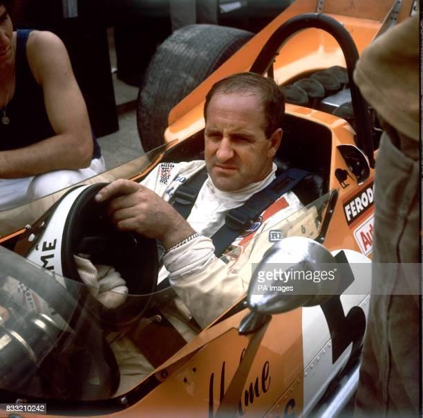 New Zealand Racing Driver Denny Hulme