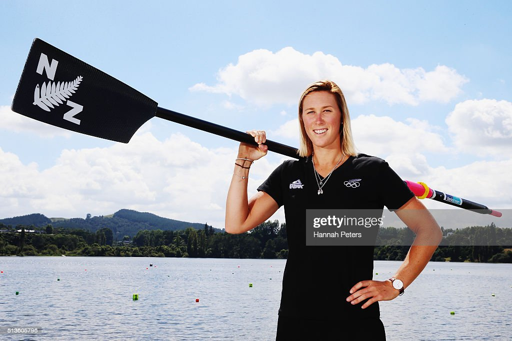 Karapiro New Zealand  city pictures gallery : new zealand rower emma twigg poses for a portrait during the new ...