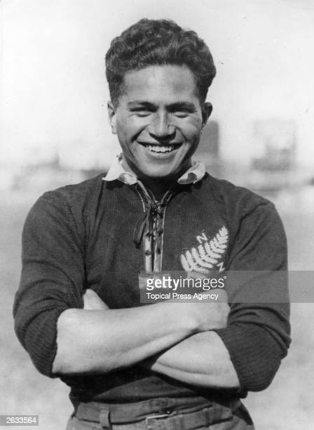 New Zealand rugby player George Nepia
