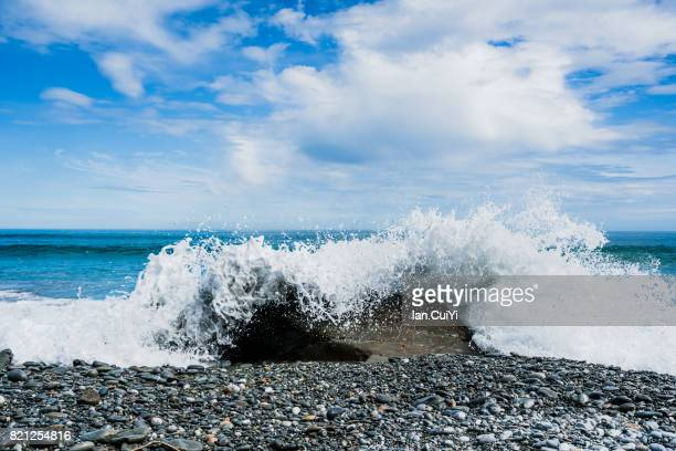 New Zealand, South Island, West Coast, Hokitika, Hokitika Beach