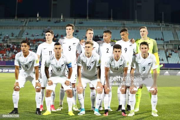 New Zealand starting lineup before the FIFA U20 World Cup Korea Republic 2017 group E match between Vietnam and New Zealand at Cheonan Baekseok...