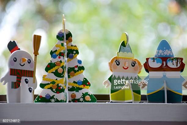New Zealand Supermarket New World's 'Little Christmas' Characters