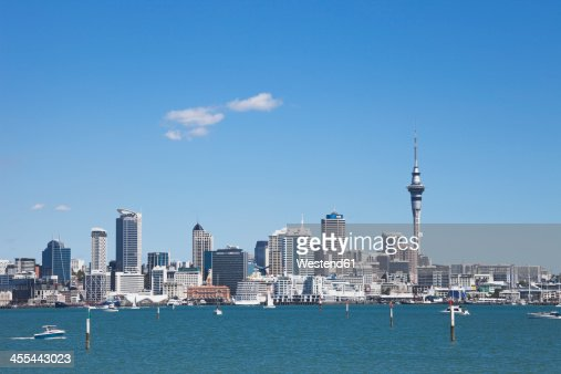 New Zealand, View of Skyline City Center