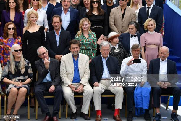 New Zealander director Jane Campion British director Ken Loach Italian director Nani Moretti Greek director CostaGavras Swedish director Bille August...