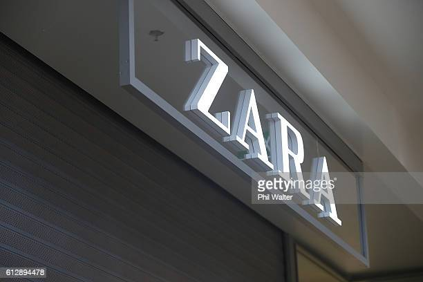New Zealand's first Zara store at Sylvia Park on October 6 2016 in Auckland New Zealand