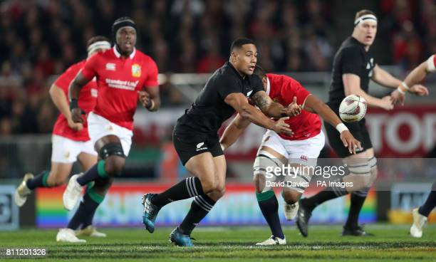 New Zealand's Ngani Laumape