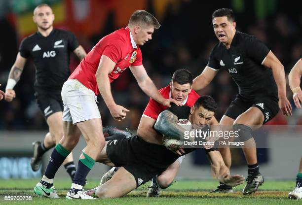 New Zealand's Sonny Bill Williams during the first test of the 2017 British and Irish Lions tour at Eden Park Auckland