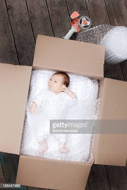 Newborn baby ready to ship