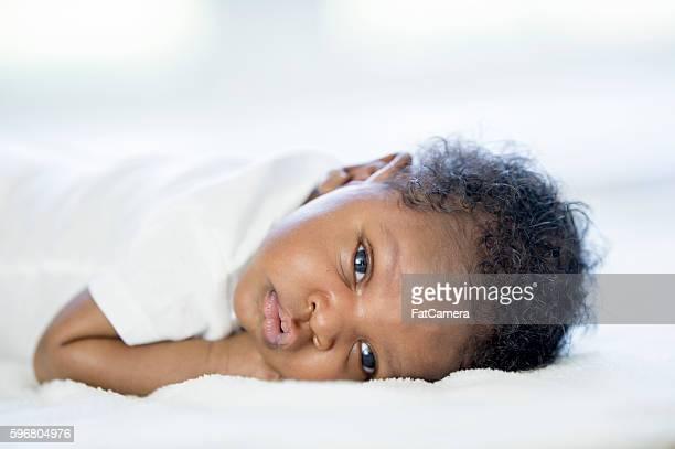 Newborn Resting Peacefully
