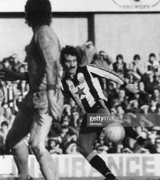 Newcastle 10 Oldham Division Two League match at St James Park Saturday 19th February 1983 Terry McDermott in action
