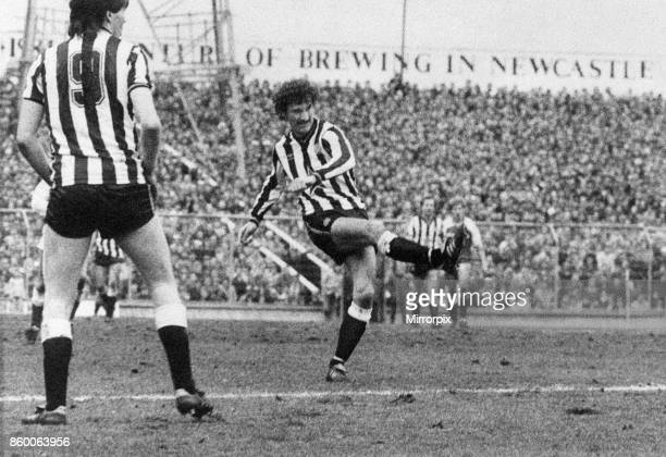 Newcastle 31 Middlesbrough Division Two League match at St James Park Saturday 17th March 1984 Terry McDermott scores goal number 2