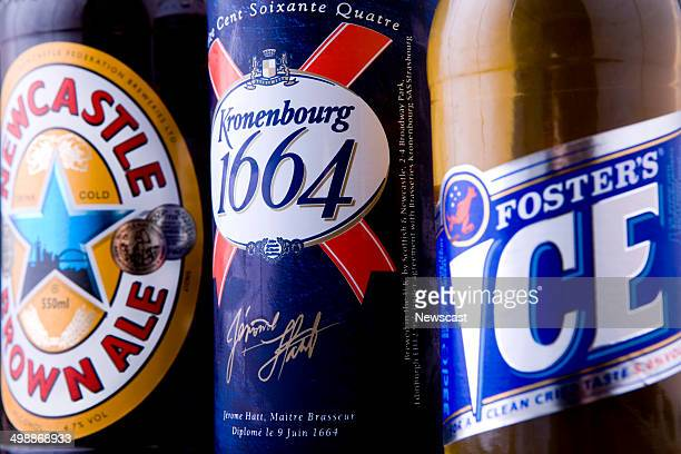 Newcastle Brown Ale Kronenburg 1664 and Foster's Ice beer brands of Scottish Newcastle