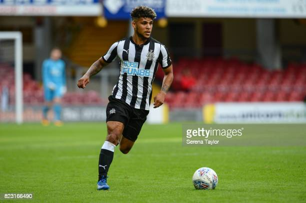 Newcastle DeAndre Yedlin runs with the ball during the the Pre Season Friendly between Bradford City and Newcastle United at the Northern Commercials...