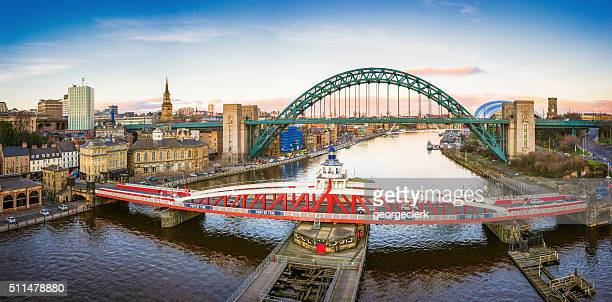Newcastle River Tyne and City Panorama