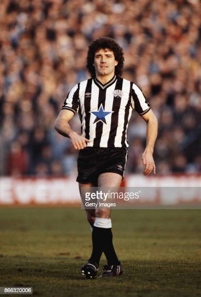 Newcastle United player Kevin Keegan looks on during a League Division Two match against Brighton Hove Albion at the Goldstone Ground on December 17...
