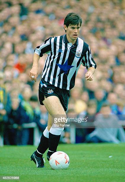 Newcastle United player Robert Lee in action during a League Division One match between Newcastle United and Tranmere Rovers at St James' Park on...