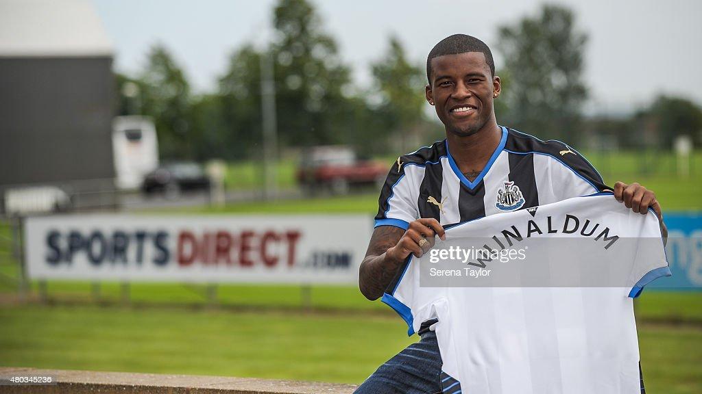 Newcastle United Unveil New Signing Georginio Wijnaldum