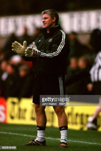 Newcastle United's goalkeeping coach Simon Smith