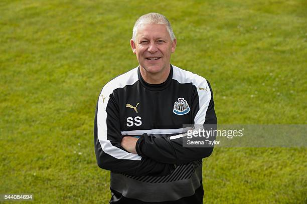 Newcastle United's Goalkeeping Coach Simon Smith poses for a photograph on the first day back at The Newcastle United training Centre on July 1 2016...